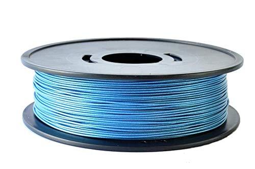 bobine fil 3D PLA BLEU m/étallis/é 3D filament Arianeplast 750g fabriqu/é en France fil 3d pla 3D filament Arianeplast 3d printer filament