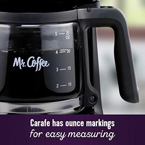 Mr. Coffee® 5-Cup Mini Brew Switch Coffee Maker, Black
