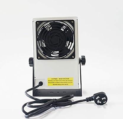Ventilador único eliminador estático, soplador de aire ionizante ...