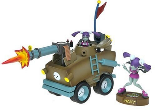 Video Game Vehicle with Cel Damage Violet