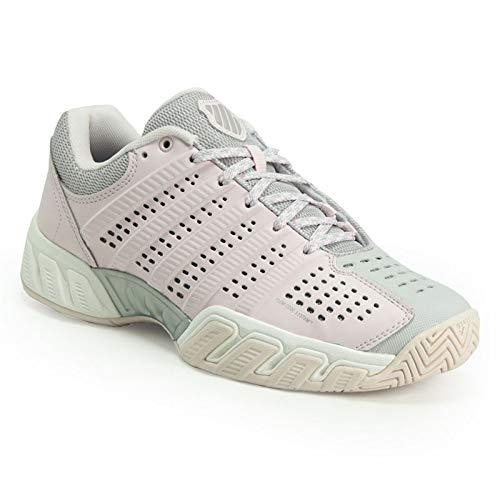 K-Swiss-Juniors` Bigshot Light 2.5 Tennis Shoes Mauve Chalk and Wind Chime-(8887
