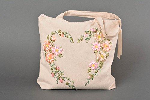 Bolso de tela hecho a mano femenino accesorio de moda regalo original estiloso