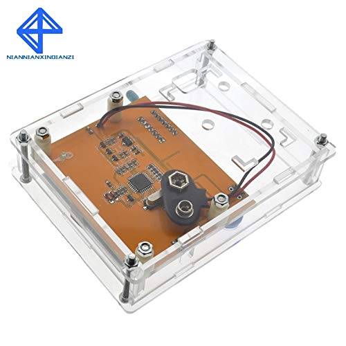 LCR-T4 Box Clear Acrylic LCR-T4 Case Shell Housing for LCR-T4 Transistor Tester ESR SCR//MOS LCR T4