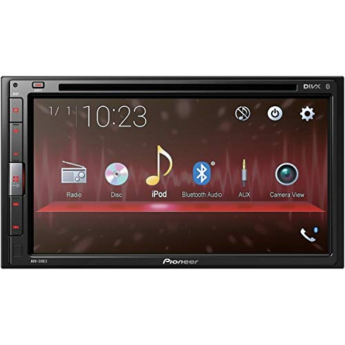 PIONEER AVH-310EX Multimedia DVD Receiver with 6.8' WVGA Display