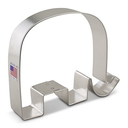 Ann Clark Republican GOP Elephant Cookie Cutter - 4.4 Inches - Tin Plated Steel Ann Clark Cookie Cutters 7857A