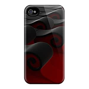 Protective Tpu Cases With Fashion Design For Iphone 6 Plus (3d Waves)