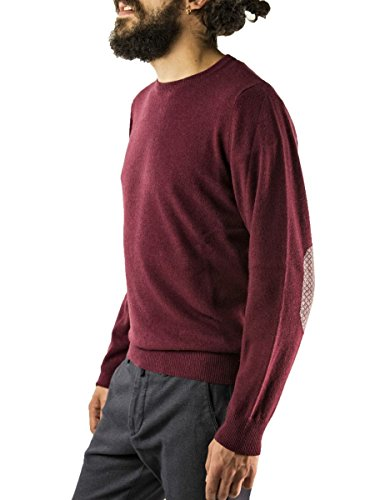 Bruni Mauro Fpfqwtu Unique Taille Homme Bordeaux Pull 4BqZngW