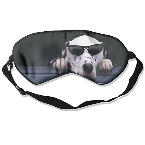 Comfortable Sleep Eyes Masks Dogs Sunglasses Animals Humor Funny Pattern Sleeping Mask For Travelling, Night Noon Nap, Mediation Or (Bronze Zebra Sunglasses)