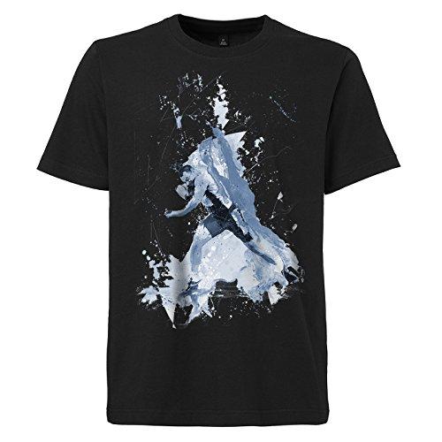 Kugelstossen_I schwarzes modernes Herren T-Shirt mit stylischen Aufdruck