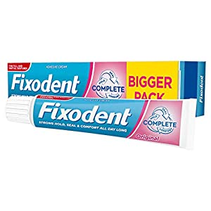Fixodent Adhesivo para dentadura completa, 70 g. 4