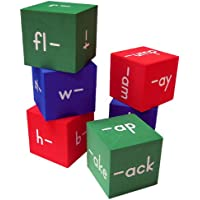 Teacher Created Resources 20633 Foam: Word Families Cubes