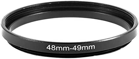 NA 48mm to 49mm Camera Filter Lens 48mm to 49mm Lifting Ring Adapter