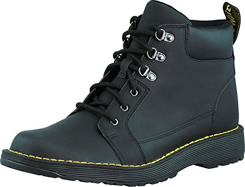 Dr.Martens Mens Trae Peidmont Split Leather Boots Black Peidmont Split + Peidmont