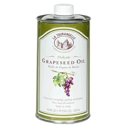 La Tourangelle Grapeseed Oil, 16.9-Ounce Cans (Pack of 4) ()