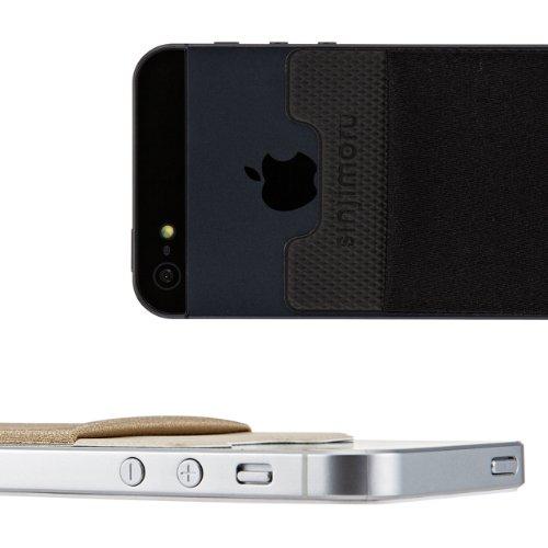 sinjipouch Basic2Universelle Schmale Schutzhülle für iPhone 5, Galaxy S4und Smartphones [grau]