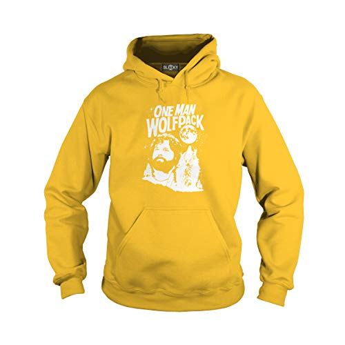 Sleeky Unisex The Hangover One Man Wolfpack (L, Yellow) for $<!--$40.99-->
