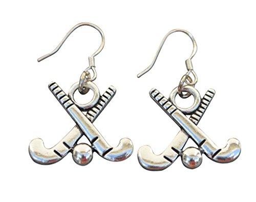 Infinity Collection Field Hockey Earrings, Field Hockey Jewelry, Field Hockey Gifts, Field Hockey Charm Earrings, for Field Hockey Players