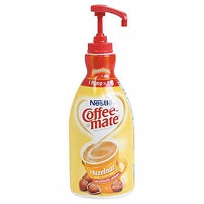 Nestlé® Coffee-mate® Hazelnut Liquid Creamer 1.5l Pump Bottle - COS from MegaDeal