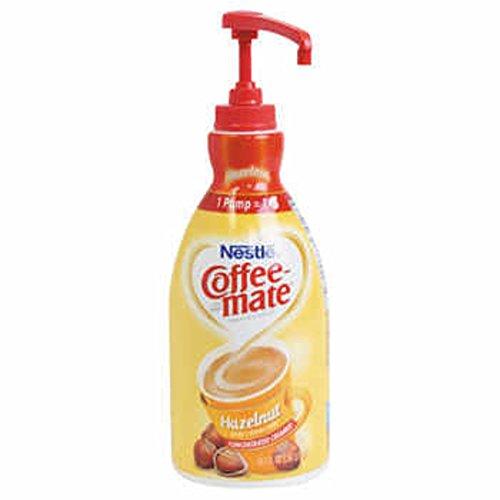 Nestlé® Coffee-mate® Hazelnut Liquid Creamer 1.5l Pump Bottle - COS