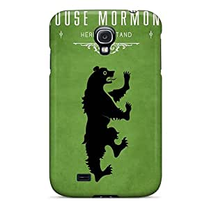 New Fashionable Holety OTy1880QYFF Cover Case Specially Made For Galaxy S4(game Of Thrones House Mormont)