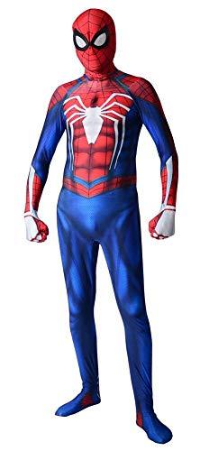 RELILOLI Spiderman Costume (Kids-S(90-110 cm), PS4 Spiderman) ()