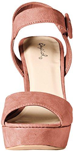 Zeh 01 Dusty Besonderer Qupid Anlass Iconic Rose Offener Slingback Sandalen Frauen PRwxAq1