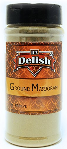 (Ground Marjoram by Its Delish, 4 Oz. Medium Jar)