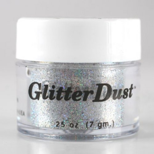 Mehron Glitter Dust Holographic Silver product image