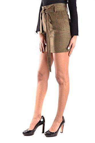 Peuterey Mujer MCBI235111O Verde Lana Falda