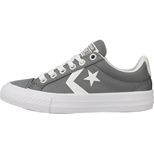 Zapatillas para ni�o, color gris , marca CONVERSE, modelo Zapatillas Para Ni�o CONVERSE CHUCK TAYLOR STAR PLAYER EV OX Gris Gris