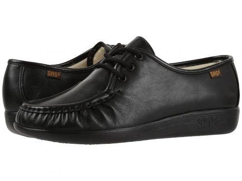 SAS(サス) レディース 女性用 シューズ 靴 オックスフォード 紳士靴 通勤靴 Siesta - Black [並行輸入品] B07BQHK6QG 6 W - Wide (C)