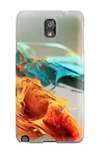 Fashion Protective Red Abstract Case Cover For Galaxy Note 3 by Maris's Diary