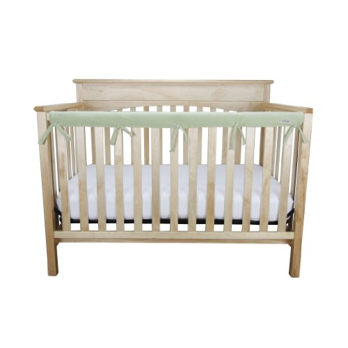 - Trend Lab Waterproof CribWrap Rail Cover - for Narrow Long Crib Rails Made to Fit Rails up to 8