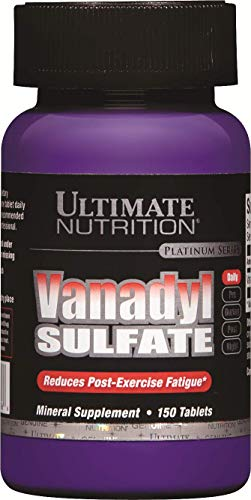 Cheap Ultimate Nutrition Vanadyl Sulfate Tablets, 10 mg, 150 Count Bottle