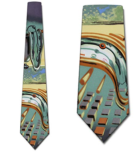 Persistence of Memory Ties - Salvador Dali NeckTie by Three ()