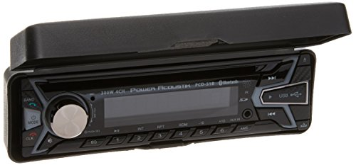 Power Acoustik PCD-51B Single-Din in-Dash Cd/Mp3 AM/FM Receiver with USB Playback (with Bluetooth) by Power Acoustik (Image #1)