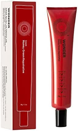 Haruharu WONDER Honey Green Repairative Cream 38g (1.3 fl.oz.) Revitalizing and Preventing Trouble (Red)