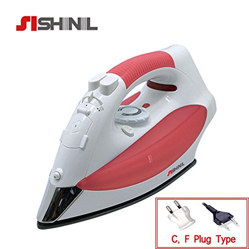 Shinil Steam Iron Cordless Garment Steamer 300ml Portable Korean Brand Sei-338ss by Shinil