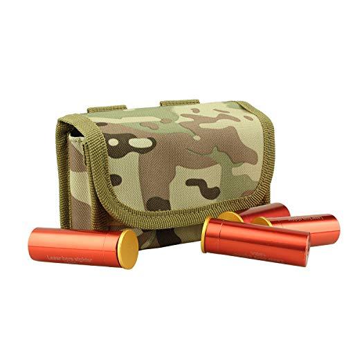 (Kosibate 10 Round Shotgun Shotshell Reload Holder Molle Pouch for 12 Gauge/20G (CP))