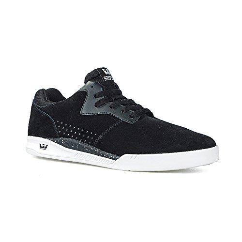 SUPRA Skateboard Shoes QUATTRO BLACK-WHITE