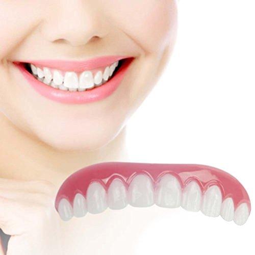 Silicone Simulated Teeth Instant Smile Cosmetic Teeth Natural Comfortable  Upper Veneers