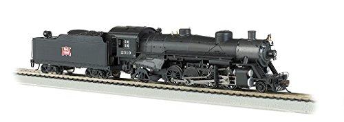 Bachmann Industries Trains Usra Light 2-8-2 Dcc Ready Rock Island #2319 With Medium Tender Ho Scale Steam Locomotive