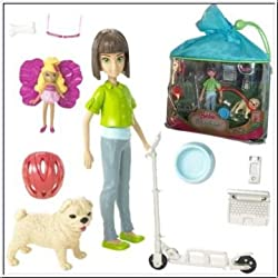 Barbie Thumbelina Mini Doll Playset