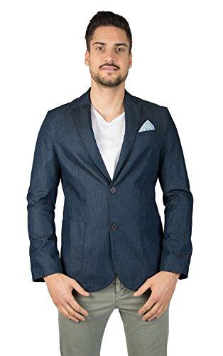 Paul Grant, Sakko, aus feinem Jeans-Stoff