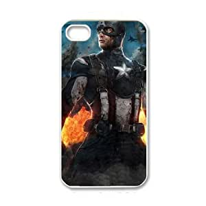 iPhone 4 4s White Cell Phone Case The Avengers Logo STY792141 Phone Case Active