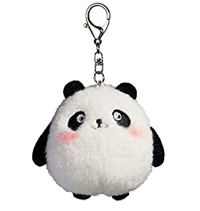 Plush Panda Keychain Stuffed Animal Ornaments Pendant 4""