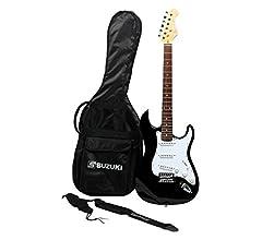 Suzuki sst1sb guitarra tipo Stratocaster, multicolor: Amazon.es ...