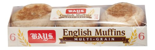 Bays Multi-Grain English Muffins (12, 6 Ct Packages)