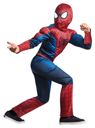 Rubies Deluxe Spider Man Kids Costume