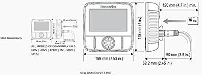 Raymarine Dragonfly-4 Pro Sonar/GPS with US C-Map Essentials